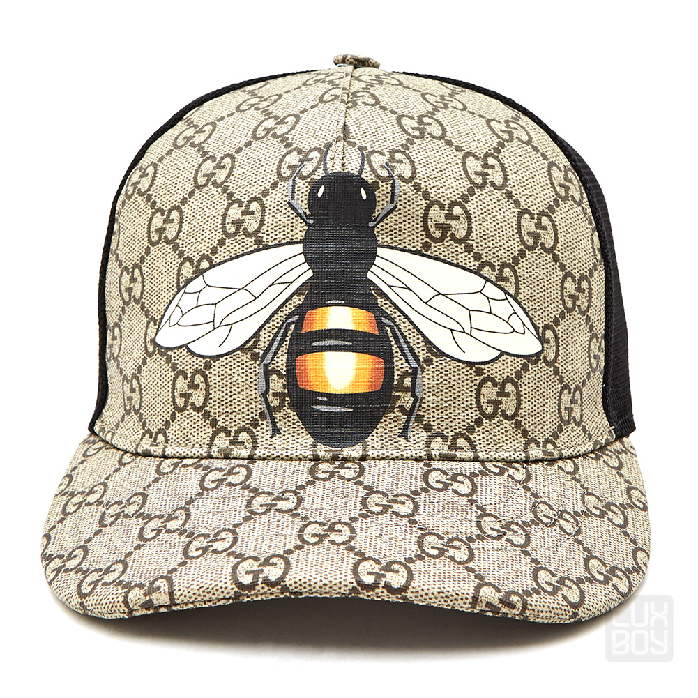 ac436c56 [Gucci] Bee GG Supreme 426887 4HB12 2160 Common Mesh Cap