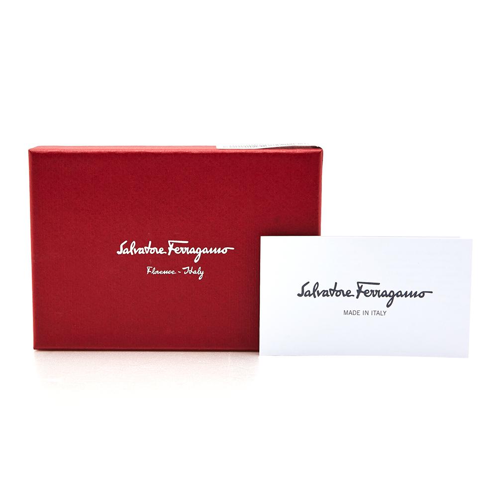 페라가모(SALVATORE FERRAGAMO) 더블 간치니 22 C505 BONBON 0674155 공용 명함/카드지갑